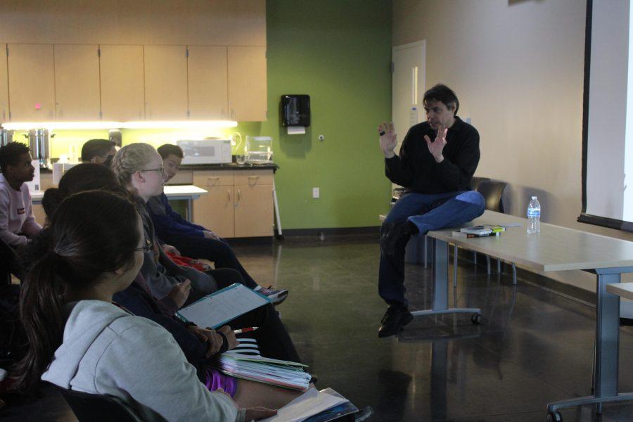 Paul Volponi discusses his work