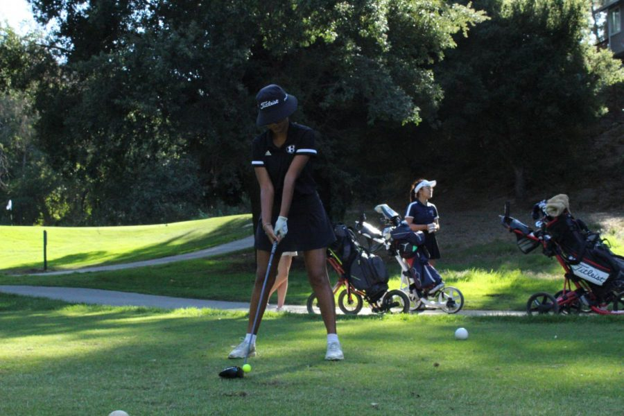13 years of experience has paid off for Naomi Danner, this year's girls golf captain