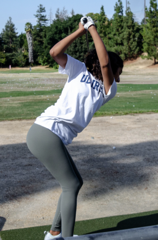 Senior Mihika Deshmukh's interest in golf started because of her father.