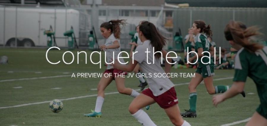 Girls JV soccer: conquer the ball
