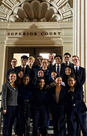 HHS Mock Trial became county champions after defeating CHS in the county finals.