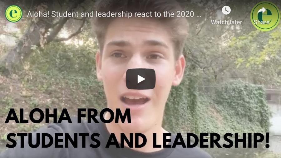 Virtual aloha rally 2020: student, leadership reactions
