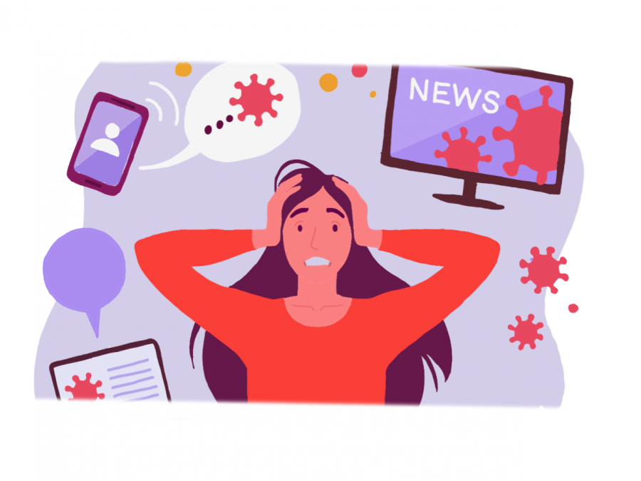 Obsessing over election: A flurry of news outlets bombard me with formidable headlines, as I slowly start to notice my mannerisms changing synonymous with the political climate.