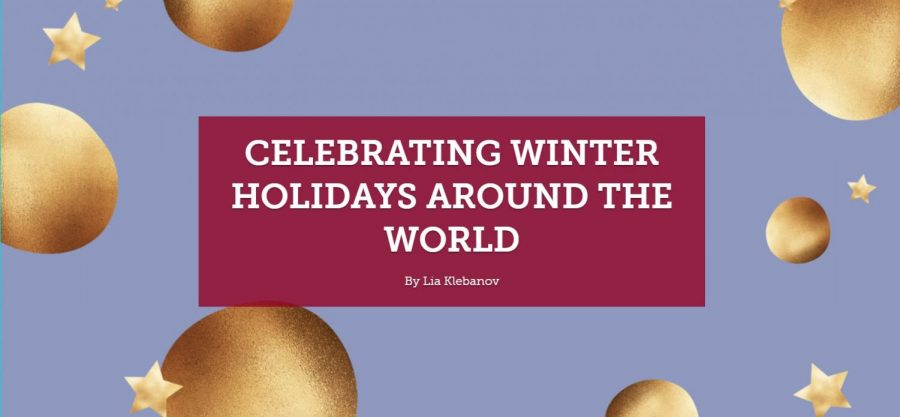 Celebrating winter holidays around the world