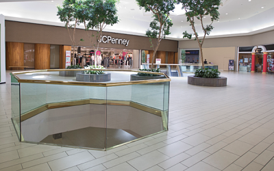 Although many of the mall's businesses are shutting down for the time being, JC Penny has confirmed that it will remain up and running.