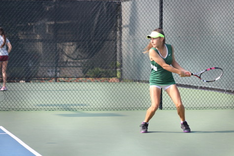 Girls varsity tennis defeated in CCS