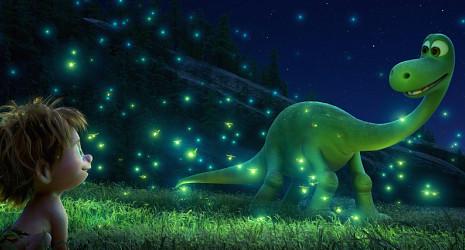 An Apatosaurus named Arlo takes on a rare friendship with a human boy.  Photo Courtesy of Disney/Pixar