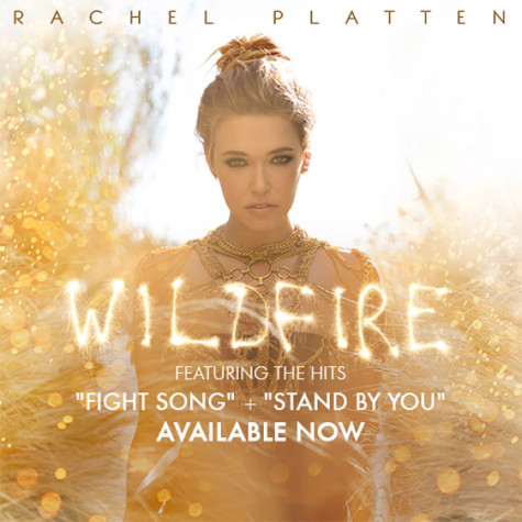 "The album cover of Rachel Platten's newly released album, ""Wilfire"".  Photo courtesy of rachelplatten.com"