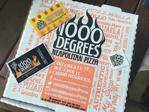 The 1000 Degrees Pizzeria is flaming with potential