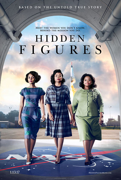 """""""Hidden Figures"""" is about three black women who fight against adversity as they prove themselves to be some of the smartest minds at NASA. Photo Courtesy of 20th Century Fox."""