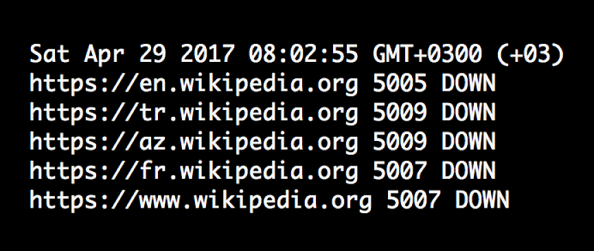 Wikipedia has been banned in Turkey since late April for not taking down pages that questioned the motives of the Turkish government. Photo courtesy of turkeyblocks.org.