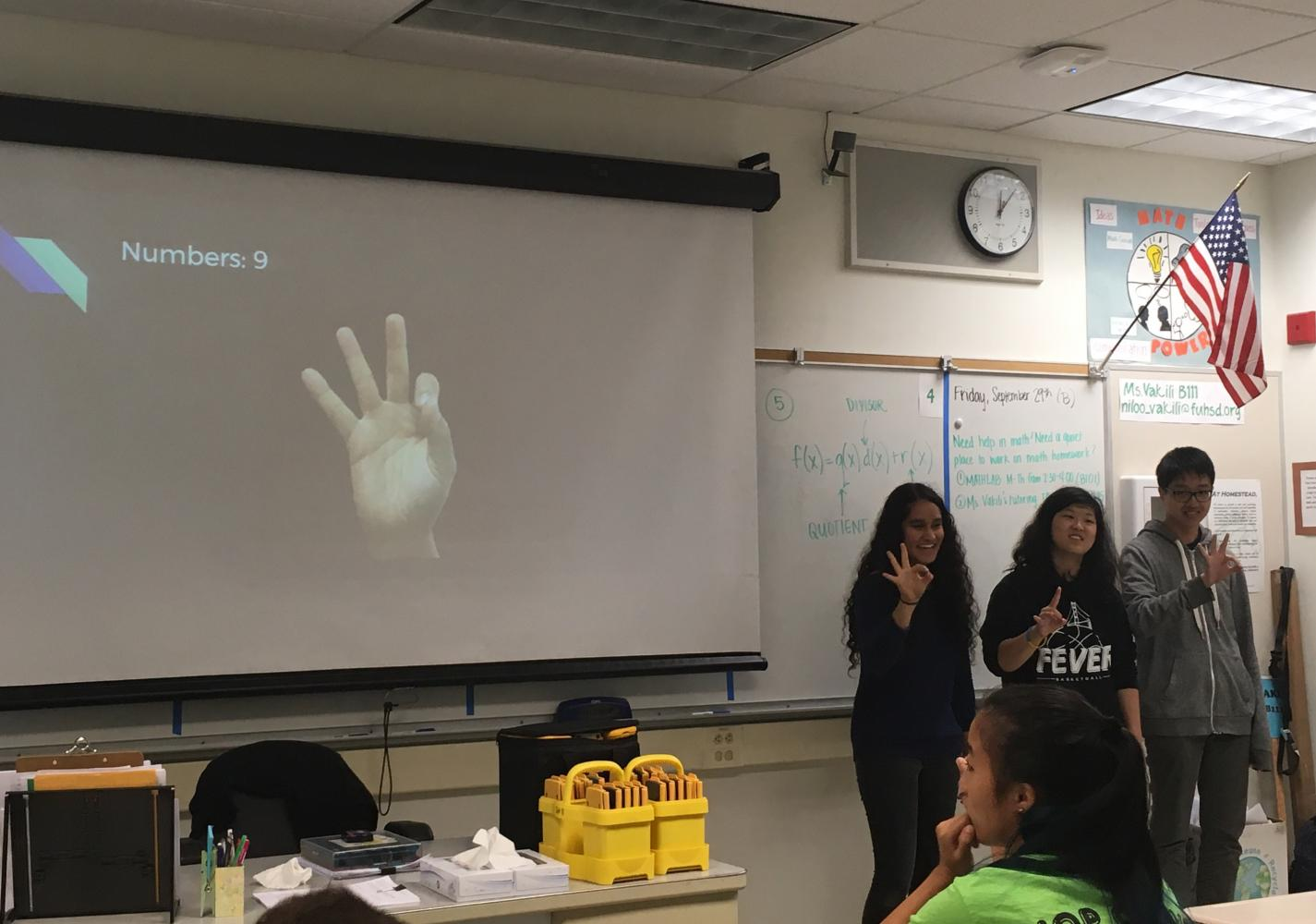 American Sign Language Club teaches sign language to their members with the utilization of fun activities such as field trips and movie socials.