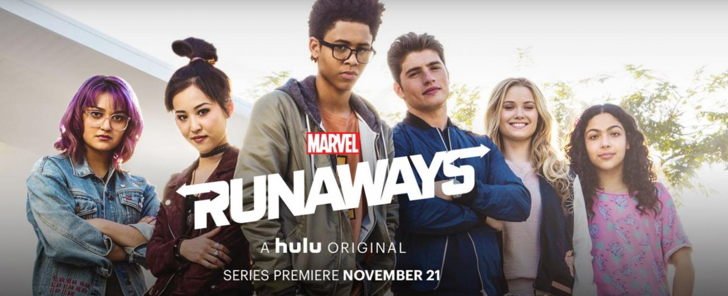 'Runaways' follows six teenagers frantically trying to figure out what to do after they discover their parents could possibly be members of an evil supernatural cult.