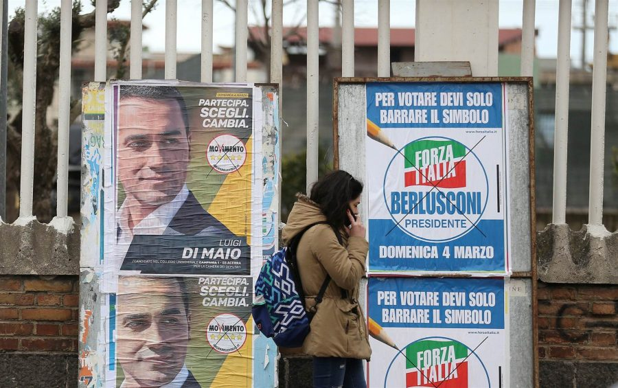Although Forza Italia, the party led by Silvio Berlusconi, is leading a successful right-wing coalition in the Italian general elections, Luigi Di Maio's Five Star Movement has, by itself, arisen as a challenger. Photo courtesy of NBC.