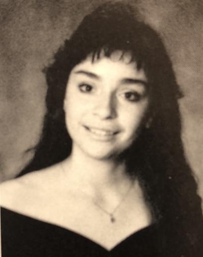 English teacher Sara Moreno graduated from HHS in 1991.  Photo courtesy of Sara Moreno