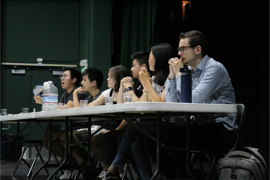 The panelists discussed the ins and outs of the college application process.