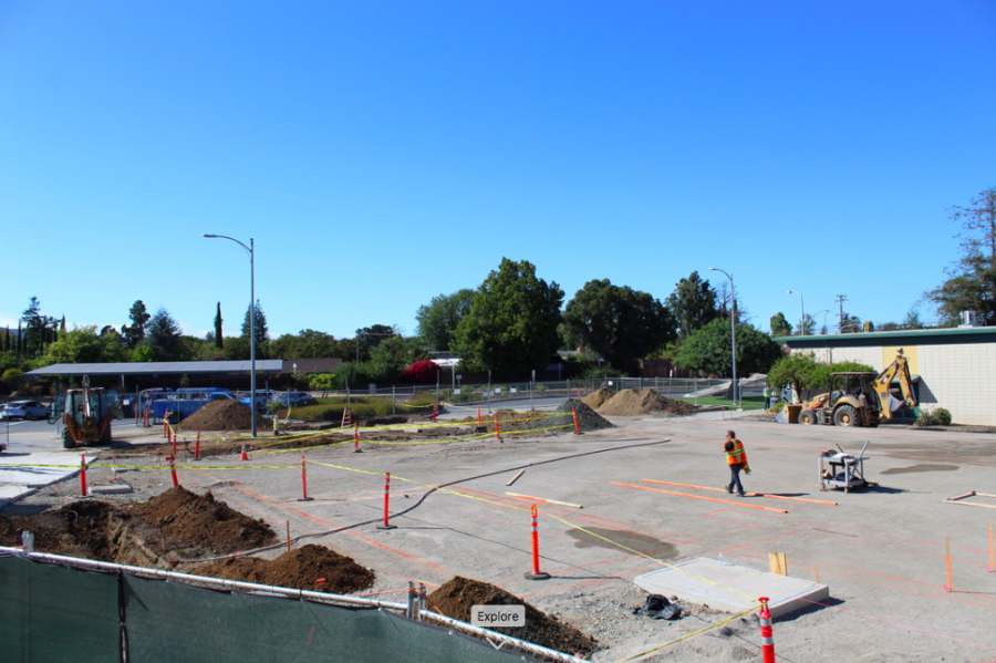 New Guidance and Student Services building set to be completed by October 2020. Construction of the building has impeded both vehicular and pedestrian access to campus.