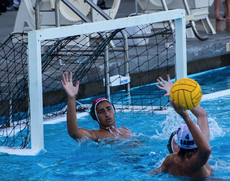 Boys JV water polo faces off against Los Altos
