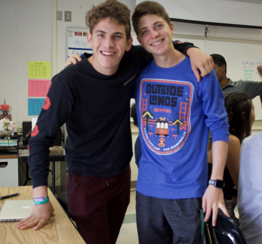 ASB social manager Ori Brutman, along with ASB president Lior Kishinevsky are an essential part of the leadership team.