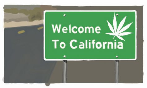 California has openly embraced the legalization of marijuana through the use of ads and billboards; is federal legalization next?