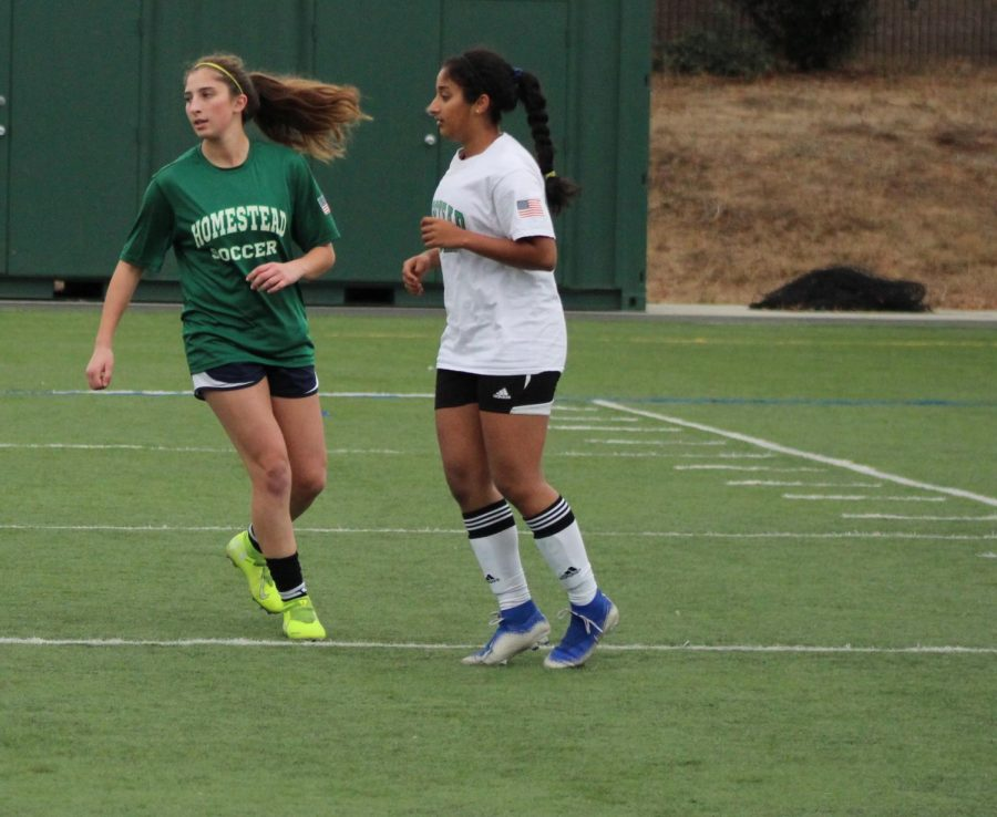 Senior Alexa Maletis was recruited to several colleges to play soccer.
