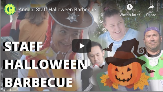 Annual Halloween barbecue brings staff together