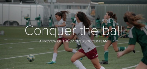 Girls JV soccer: conquer the ball