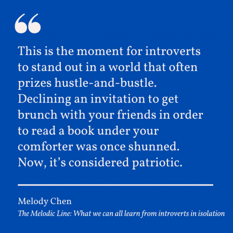 The Melodic Line: What we can all learn from introverts in isolation