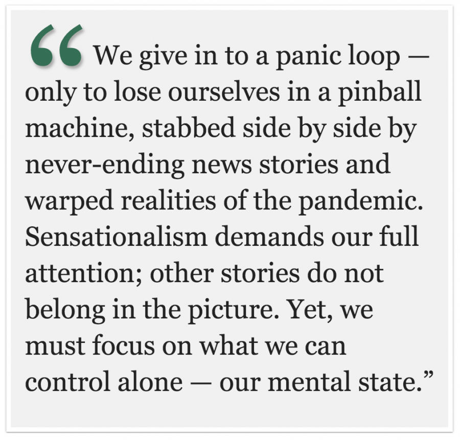 The Melodic Line: Recovering a sense of mental clarity in a pandemic