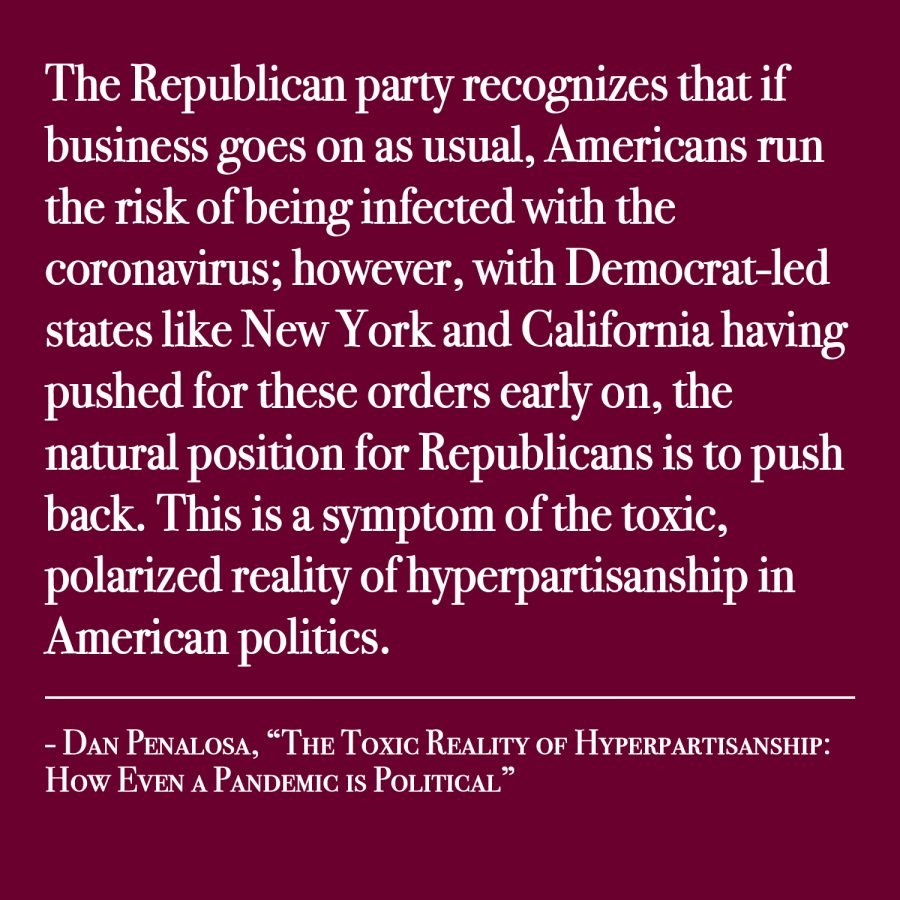 The toxic reality of hyperpartisanship