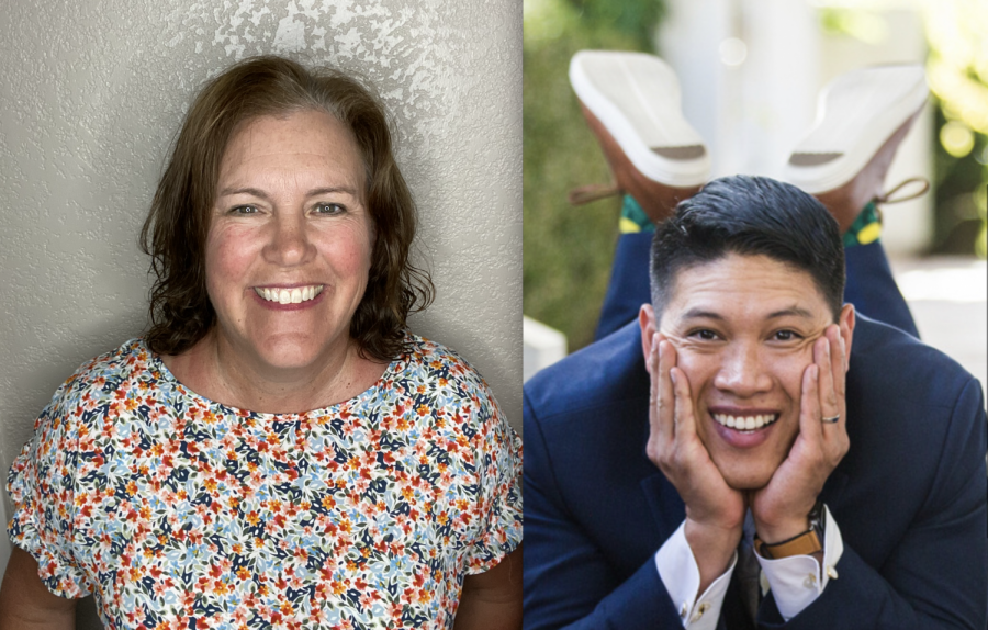 Teri Hannigan and Anthony Nguyen are the newest additions to the Mustang staff.