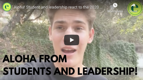 Virtual aloha rally 2020: student, leadership reactions
