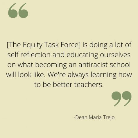 Staff work together to improve equity