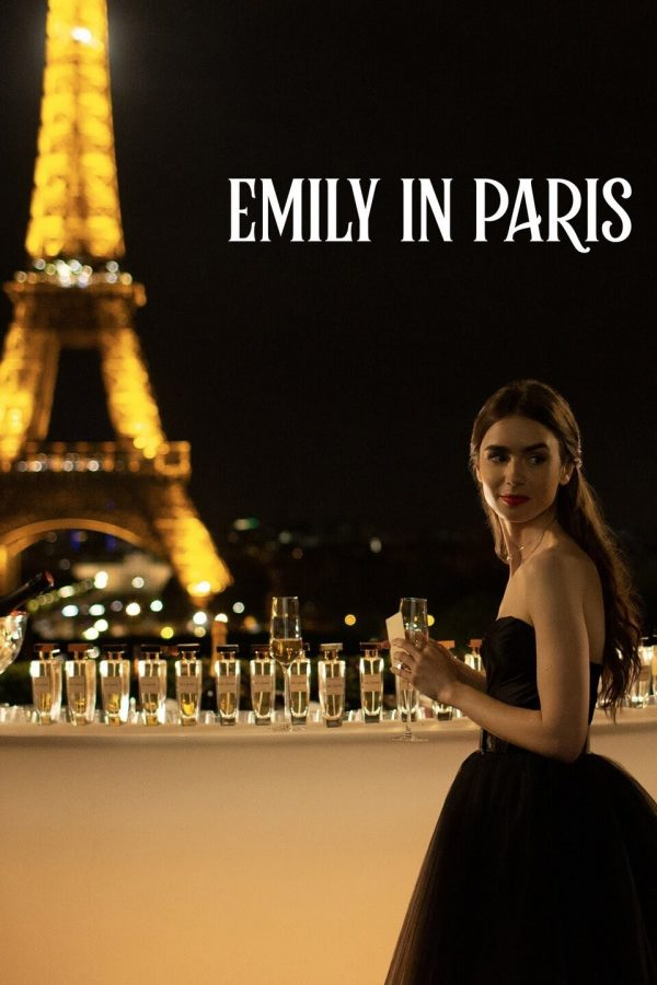 Lily Collins stars as Emily Cooper in the Netflix series 'Emily in Paris'