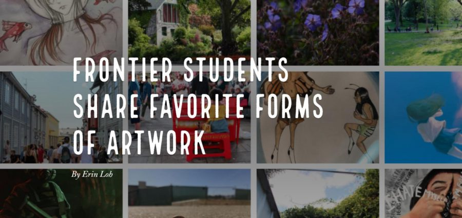 HHS Frontier: students share different forms of artwork created, published through Frontier club