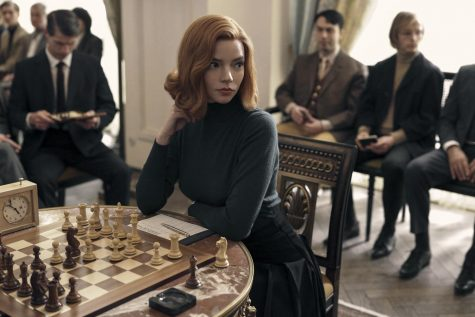 Anya Taylor-Joy stars as Beth Harmon in the Netflix series The Queens Gambit.