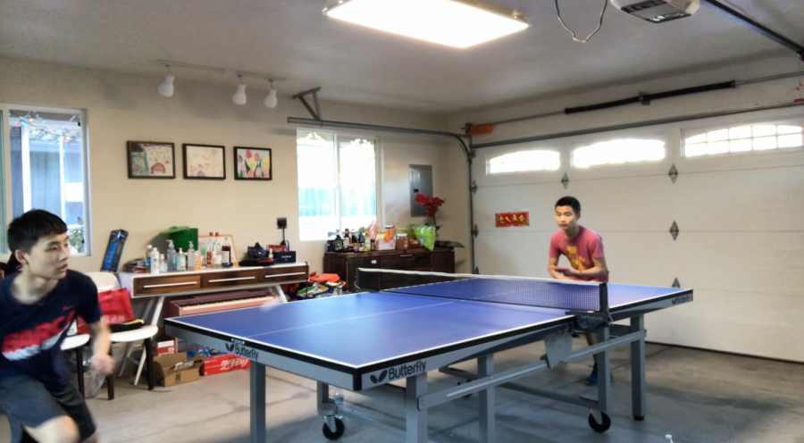 """The ping pong club was successfully founded by Alan Jian and Michael Xiong in 2019 to build upon their similar interest and bring attention to a lesser-known sport, ping pong club public relations officer Alan Jian said in a Zoom interview.  """"I often play ping pong with my family,"""" Jian said. """"I just have some fun and some time away from my screen just to be moving a little bit, especially during quarantine."""" Jian said the ping pong club is not a well-known club at HHS since it was only created a year ago, and is still in the process of expanding to the student community. """"I was one of the founders of this club,"""" senior Michael Xiong, vice president of the ping pong club said in a Zoom interview. """"We actually started applying to this club in our sophomore year. The first time, we failed, and the second time we succeeded.""""  Xiong also mentioned that although the strength of the club is the free play, quarantine has forced officers to focus more on media videos in relation to ping pong in order for more students to learn about the club. """"I [have] met several people who play ping pong,"""" Senior James Jian, the ping pong club president said in a Zoom interview. """"Many of them actually play really well, and play competitively. I just feel like the school lacks some kind of ping pong culture and there's literally no space for people who play ping pong."""" In order to assemble and for more people to experience what ping pong is about, James Jiang said he found that he and other officers, along with his friends, contacted teachers to be advisors for the club and then had to gather different equipment. Xiong said he was surprised when James Jian told him he was going to create the club.  """"I know Monta Vista and a bunch of other schools nearby that all have this club,"""" Xiong said, """"and apparently, we're missing this, which I think is a really important cultural element."""" Xiong also said there isn't much that can be done during this period of the pandemic except to educate members"""