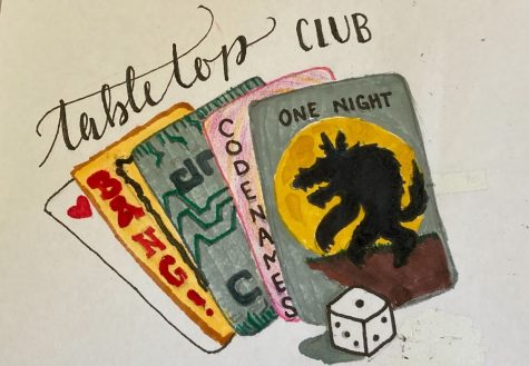REFUGE FOR STUDENTS: Tabletop club serves as an opportunity for students to destress and enjoy various board games.