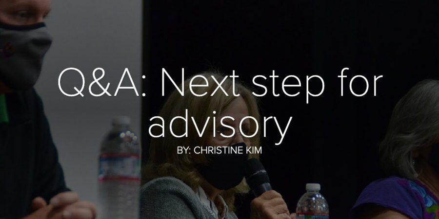 Q&A: Next step for advisory