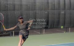 Girls Varsity Tennis Goals