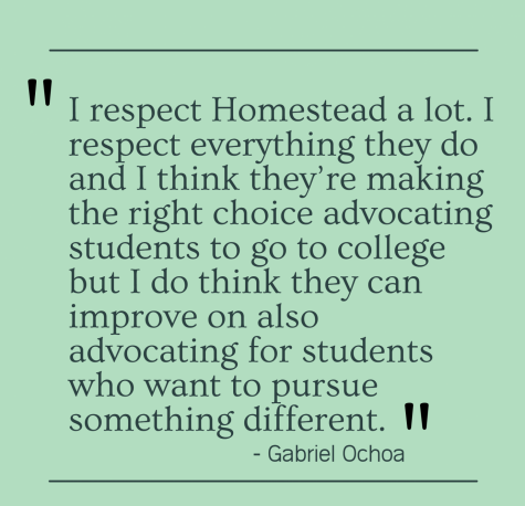 Pursuing alternative education methods, experiences after high school